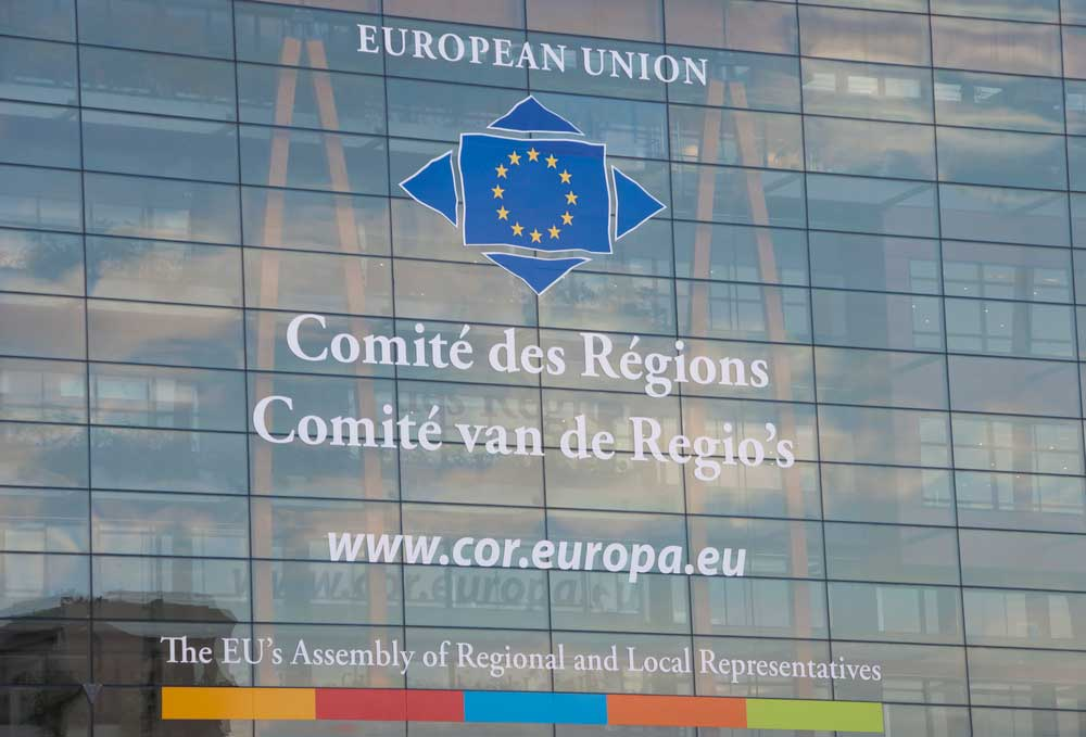 The EU's Assembly of Regional and Local Representatives — © Photo by coddie/Depositphotos